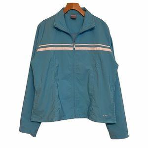Nike Blue Retro Stripe Full Zip Track Jacket